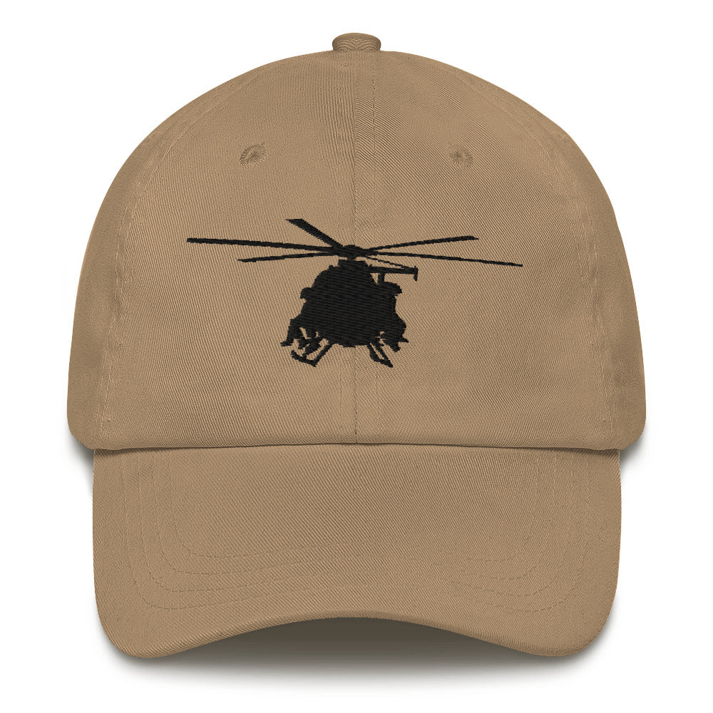 MH-6 Black Embroidered hat by Ruck & Rotor