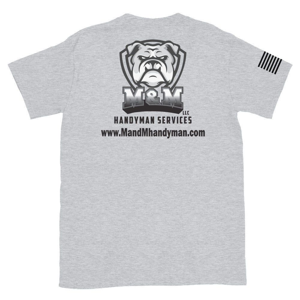 M&M Handyman Services LLC Short-Sleeve Unisex T-Shirt