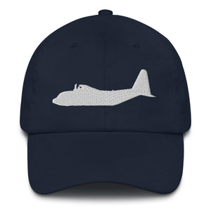 C-130 White Embroidered Airplane hat by Ruck & Rotor