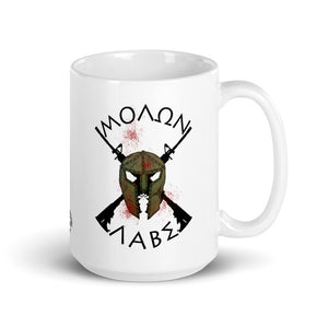 MOLON LABE - USA Flag Ceramic Mug by Ruck & Rotor