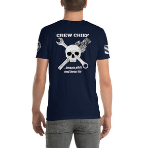 """Crew Chief"" MH-47 Short-Sleeve Unisex T-Shirt by Ruck & Rotor"