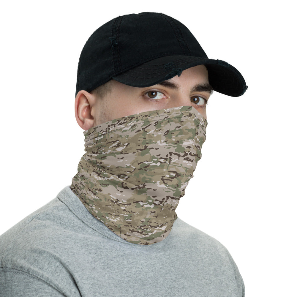 """Modern Camo"" Neck Gaiter Face Mask by Ruck & Rotor"