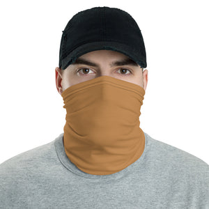 Tan/Nude Neck Gaiter Face Mask by Ruck & Rotor