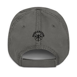 C-130 Embroidered Airplane, Distressed Hat Tan, Gray or Blue by Ruck & Rotor
