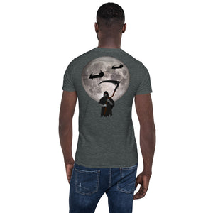 MH-47 Chinook Reaper Moon Short-Sleeve Unisex T-Shirt