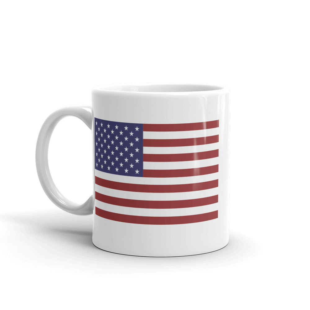 """10.22 Tactical AF"" USA Flag Ceramic Mug by Ruck & Rotor"