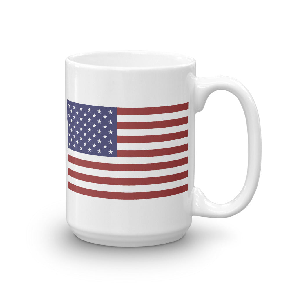 USA Flag Ceramic Mug by Ruck & Rotor