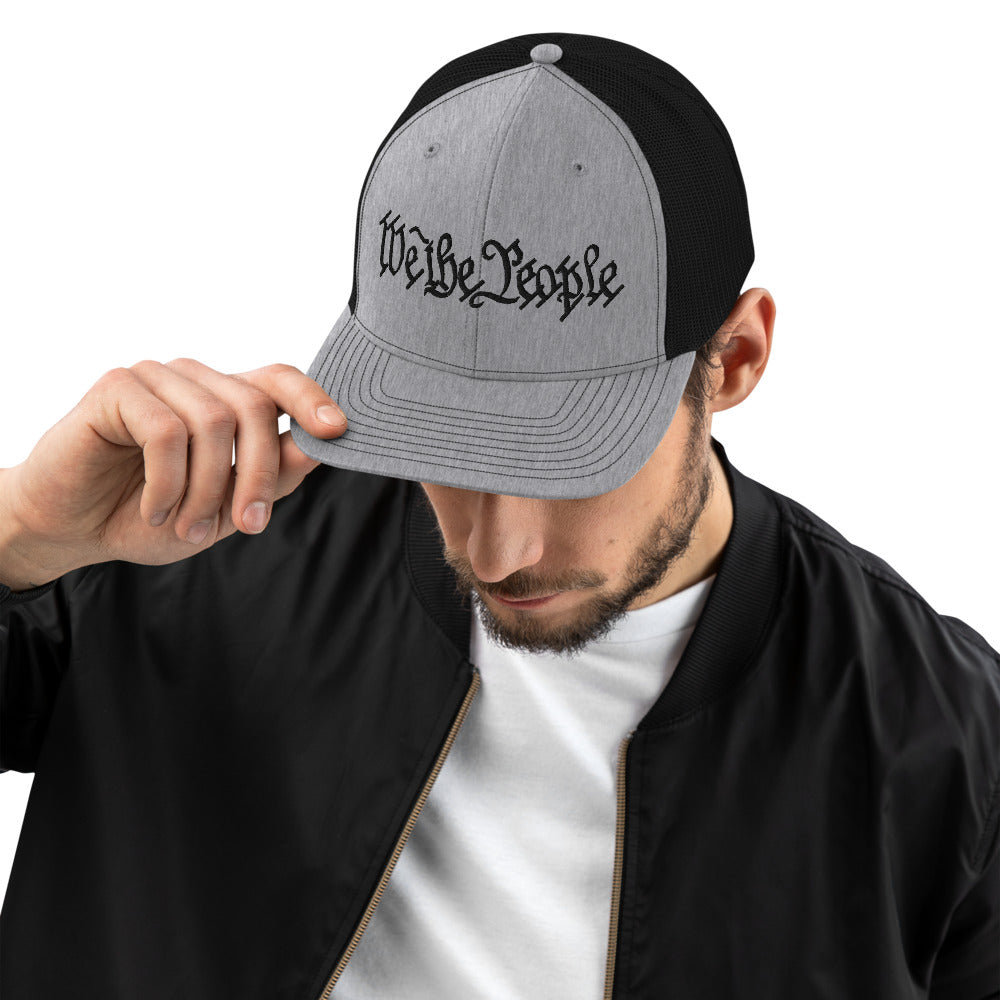 We the People Embroidered Richardson 112 Trucker Cap by Ruck & Rotor