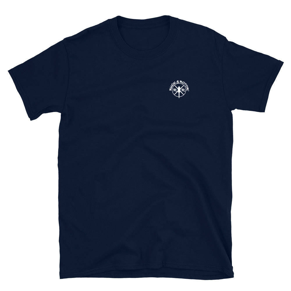 People Sleep Peacefully-SPARTAN Short-Sleeve Unisex T-Shirt by Ruck & Rotor