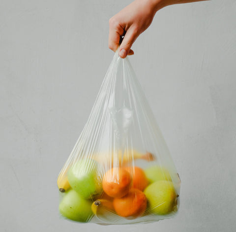 plastic free bags are not needed to hold our shopping