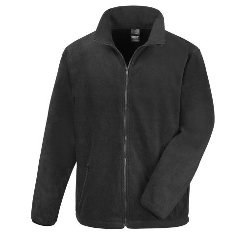 Front - Result Core Herren Fleece-Jacke