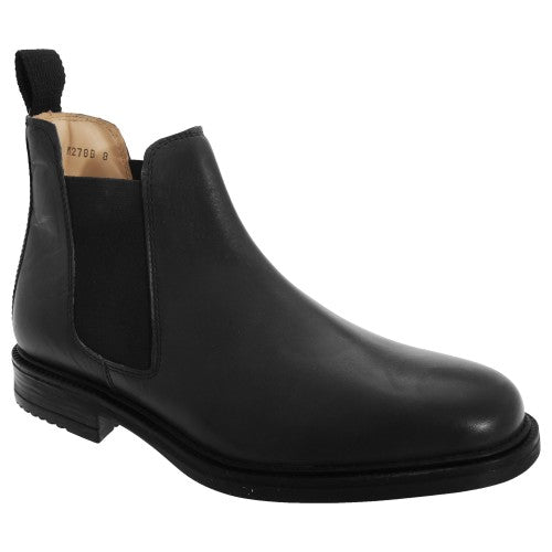 Front - Roamers Herren Stiefel / Stiefelette / Ankle-Boot / Chelsea-Boots