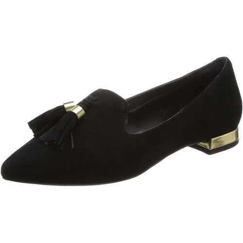 Front - Rockport Damen Total Motion Zuly Wildleder Loafer