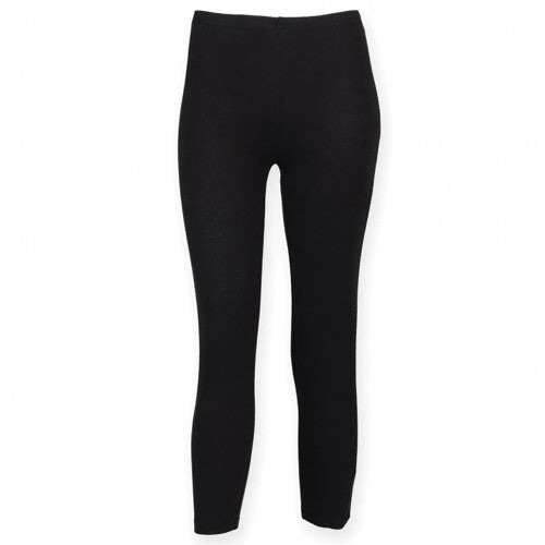 Front - SF Damen Trainingshose / Sportleggings, 3/4-lang