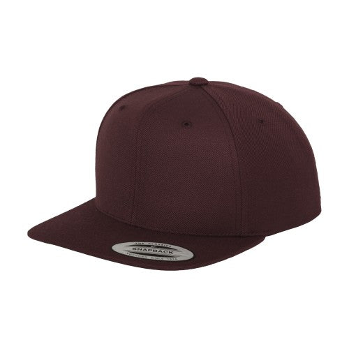 Front - Yupoong Herren Baseball-Kappe The Classic