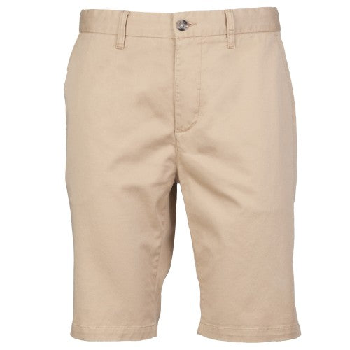 Front - Front Row Herren Stretch Chino-Shorts mit hohem Baumwollanteil