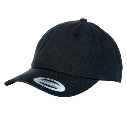 Front - Yupoong Flexfit 6 Panel Baseball Kappe mit Schnalle (2 Stück/Packung)