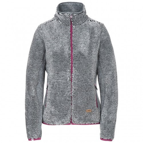 Front - Trespass Damen Fleecejacke Muirhead