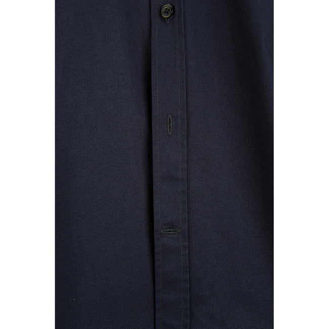 Marineblau - Side - B&C Herren Sharp Twill Kurzarm Hemd