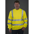 Neongelb - Back - Yoko Hi-Vis Heavyweight Pullover
