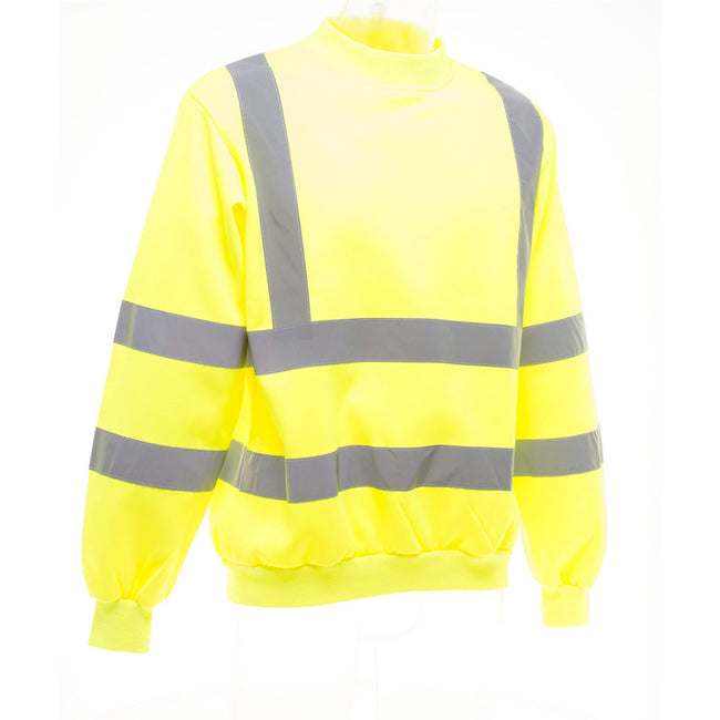 Neongelb - Side - Yoko Hi-Vis Heavyweight Pullover