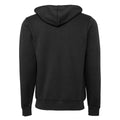 Rot - Front - Canvas Unisex Fleece Kapuzenjacke