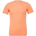 Orange Triblend - Front - Canvas Triblend Herren T-Shirt mit Rundhalsausschnitt