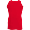 Rot - Side - Fruit Of The Loom Athletic Tank Top für Männer