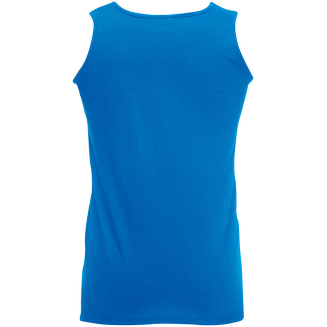Königsblau - Back - Fruit Of The Loom Athletic Tank Top für Männer