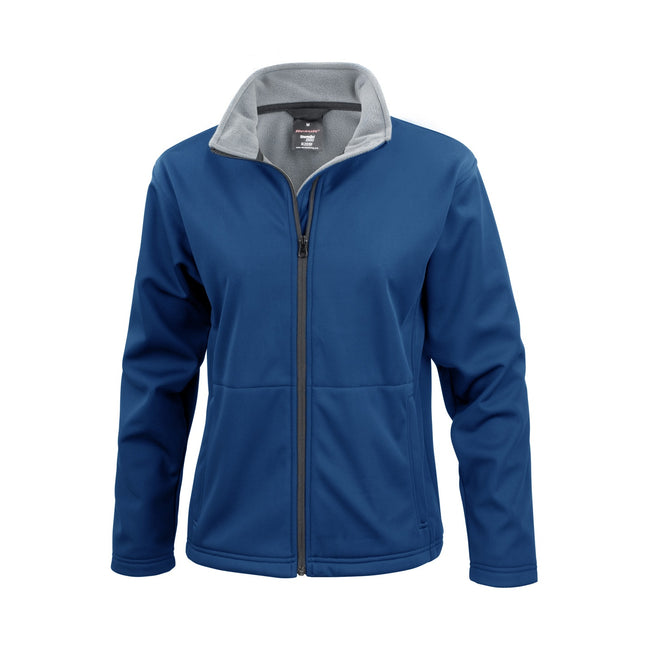 Marineblau - Front - Result Core Damen Softshell-Jacke
