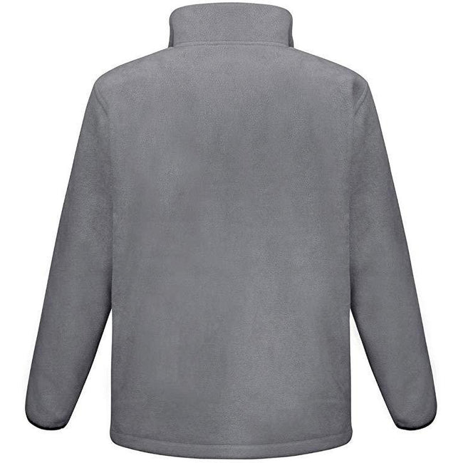 Grau - Back - Result Core Herren Fleece-Jacke