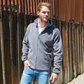 Grau - Side - Result Core Herren Fleece-Jacke