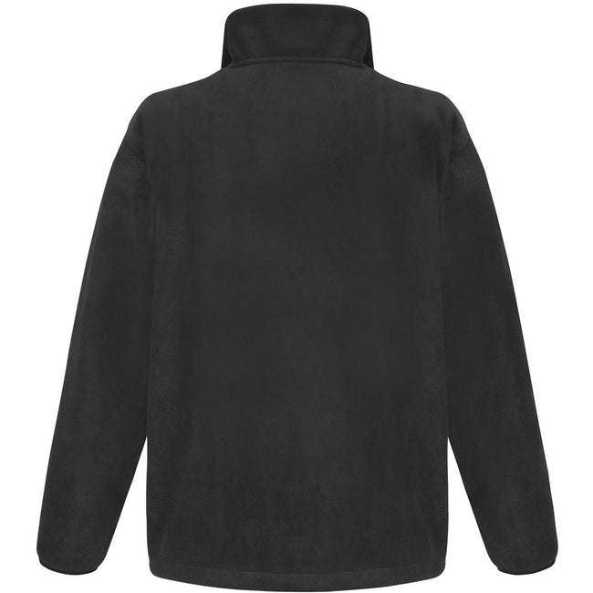 Schwarz - Back - Result Core Herren Fleece-Jacke