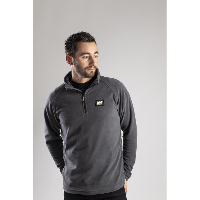 Grau - Lifestyle - CAT Lifestyle Herren Concord Fleece Pullover
