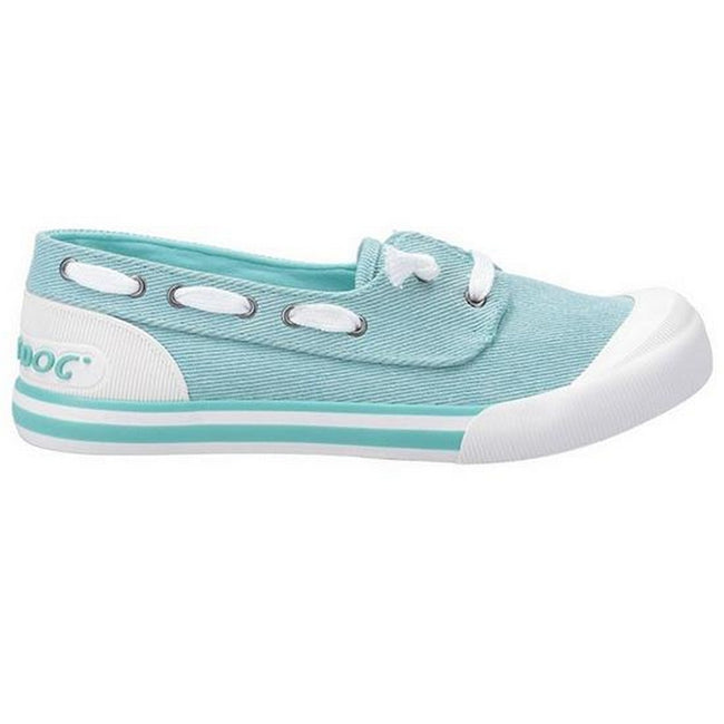 Mint - Back - Rocket Dog Damen Jazzin Jetty Salty Bootschuh