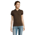 Marineblau - Back - SOLS People Damen Polo-Shirt, Kurzarm