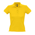 Atollblau - Front - SOLS People Damen Polo-Shirt, Kurzarm