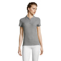 Pink - Back - SOLS People Damen Polo-Shirt, Kurzarm