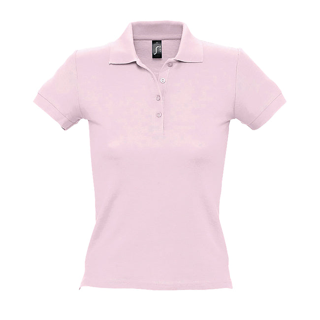 Orange - Lifestyle - SOLS People Damen Polo-Shirt, Kurzarm