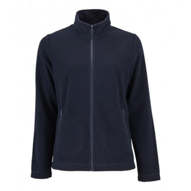 Marineblau - Front - SOLS Damen Norman Fleece Jacke