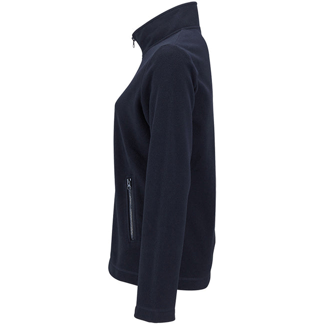 Marineblau - Side - SOLS Damen Norman Fleece Jacke