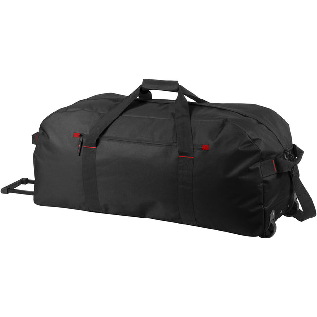 Solide Schwarz - Front - Bullet Vancouver Trolley Reise Tasche