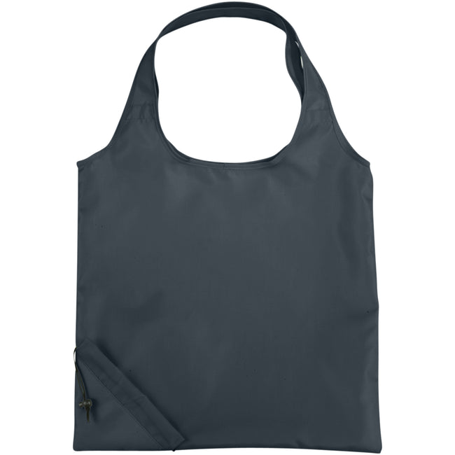 Grau - Front - Bullet Bungalow Faltbare Polyester Tasche