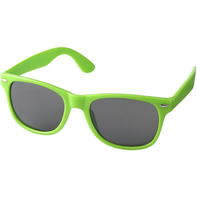 Weiß - Front - Bullet Sun Ray Sonnenbrille