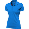 Pink - Back - Slazenger Advantage Kurzarm Damen Polo