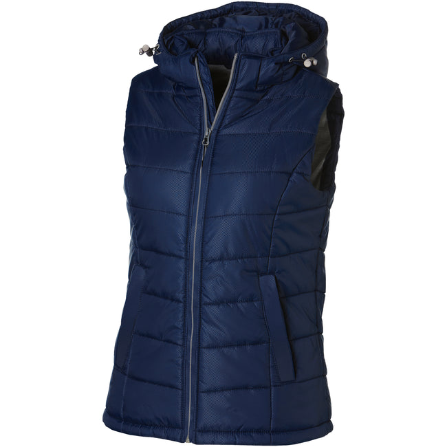 Rot - Side - Slazenger Mixed Doubles Damen Bodywarmer