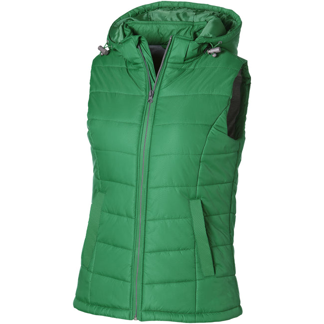 Schwarz - Back - Slazenger Mixed Doubles Damen Bodywarmer