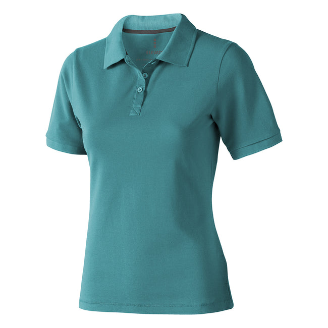 Hellblau - Back - Elevate Calgary Kurzarm Damen Polo