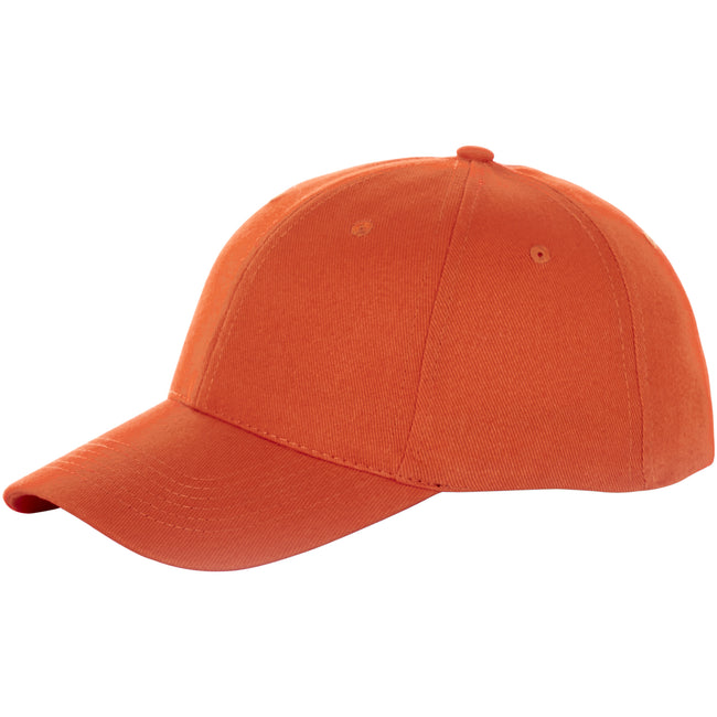 Orange - Front - Elevate Bryson 6 Panel Kappe