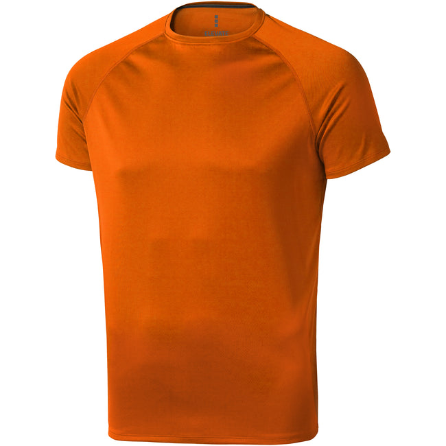 Orange - Front - Elevate Herren T-Shirt Niagara, kurzärmlig